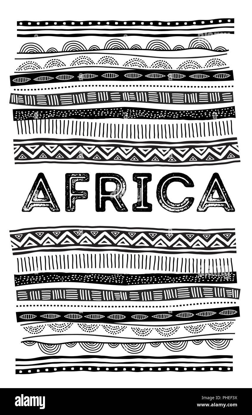 Afrikanische Kulturvektorvektoren Stockfotos und -bilder Kaufen