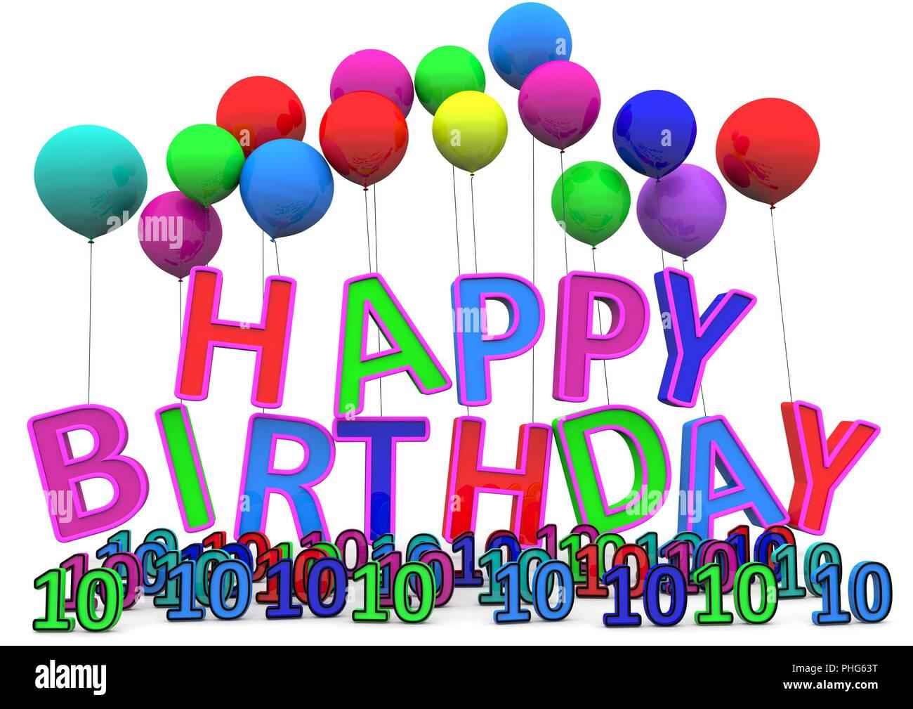 Herzlichen Glückwunsch Zum Geburtstag Stockfoto Bild 217329612 Alamy