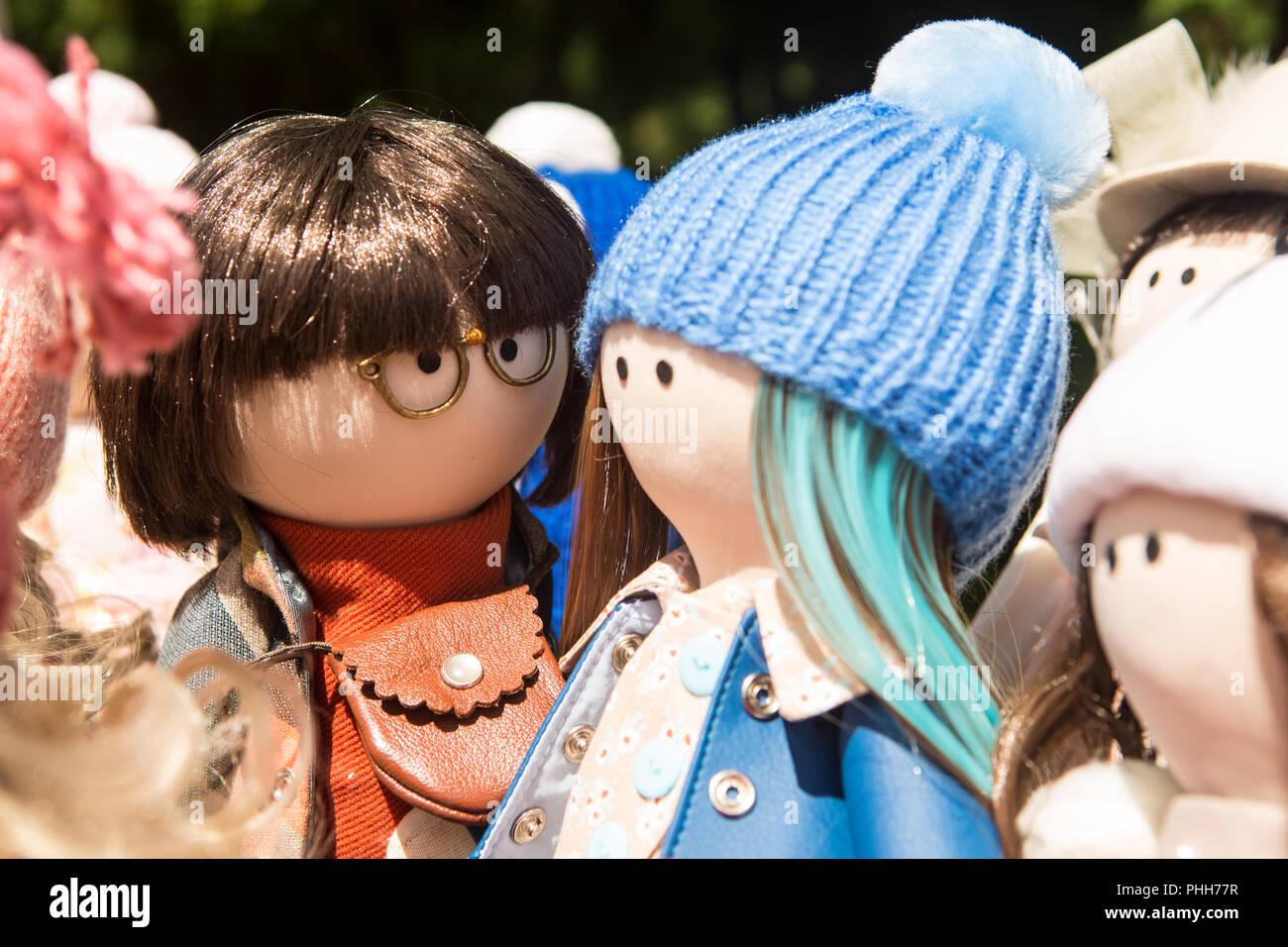 a in bambole fiera settimana mano fatte sono Simpatiche nel fine Nn0m8wOv
