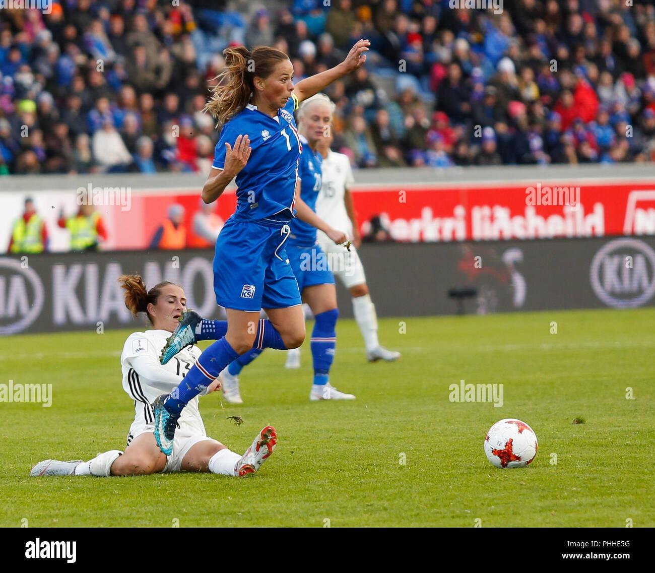 01092018 Island Reykjavik Fußball Frauen Wm Qualifikation