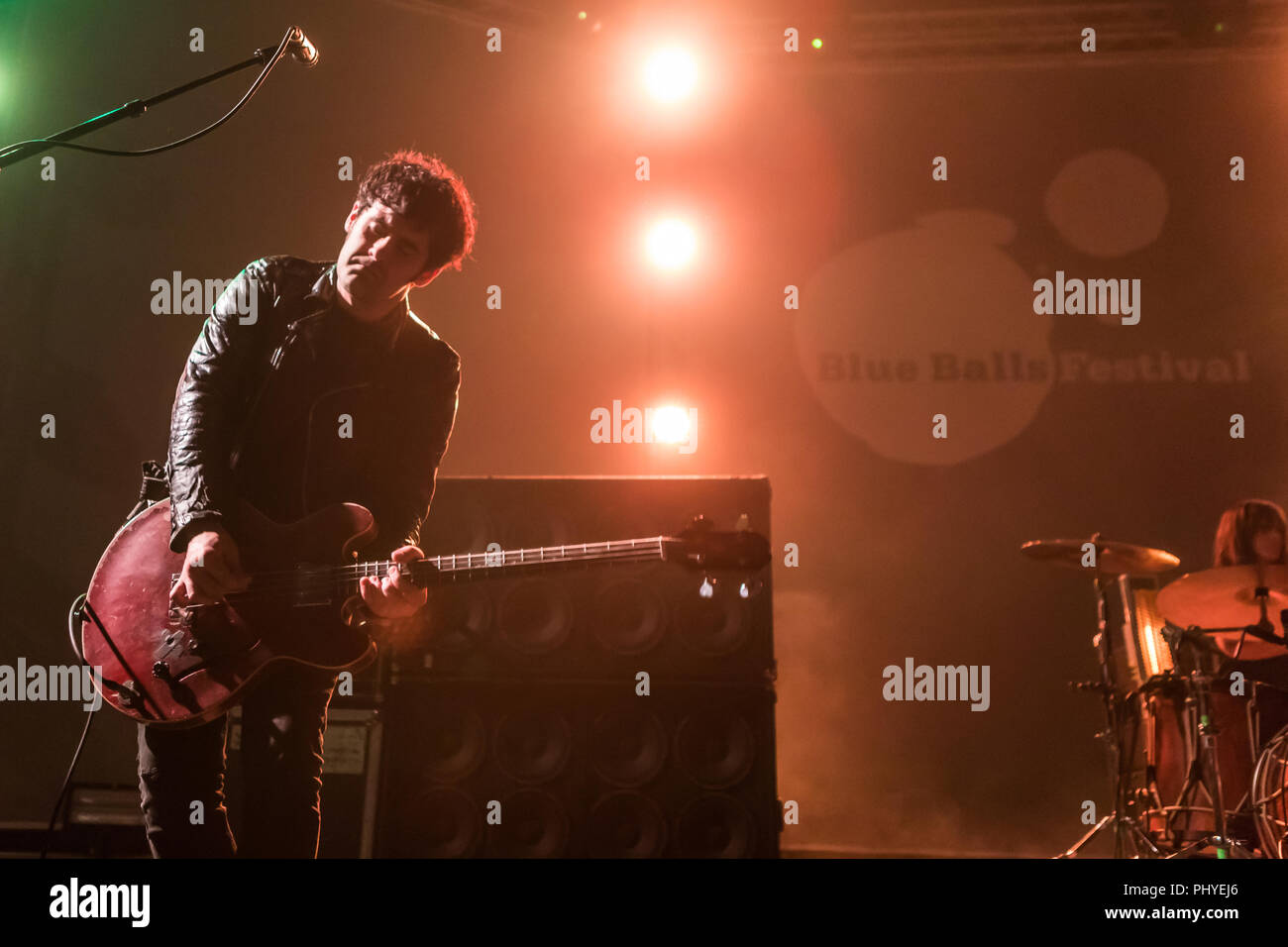 Black Rebel Motorcycle Club Stockbild