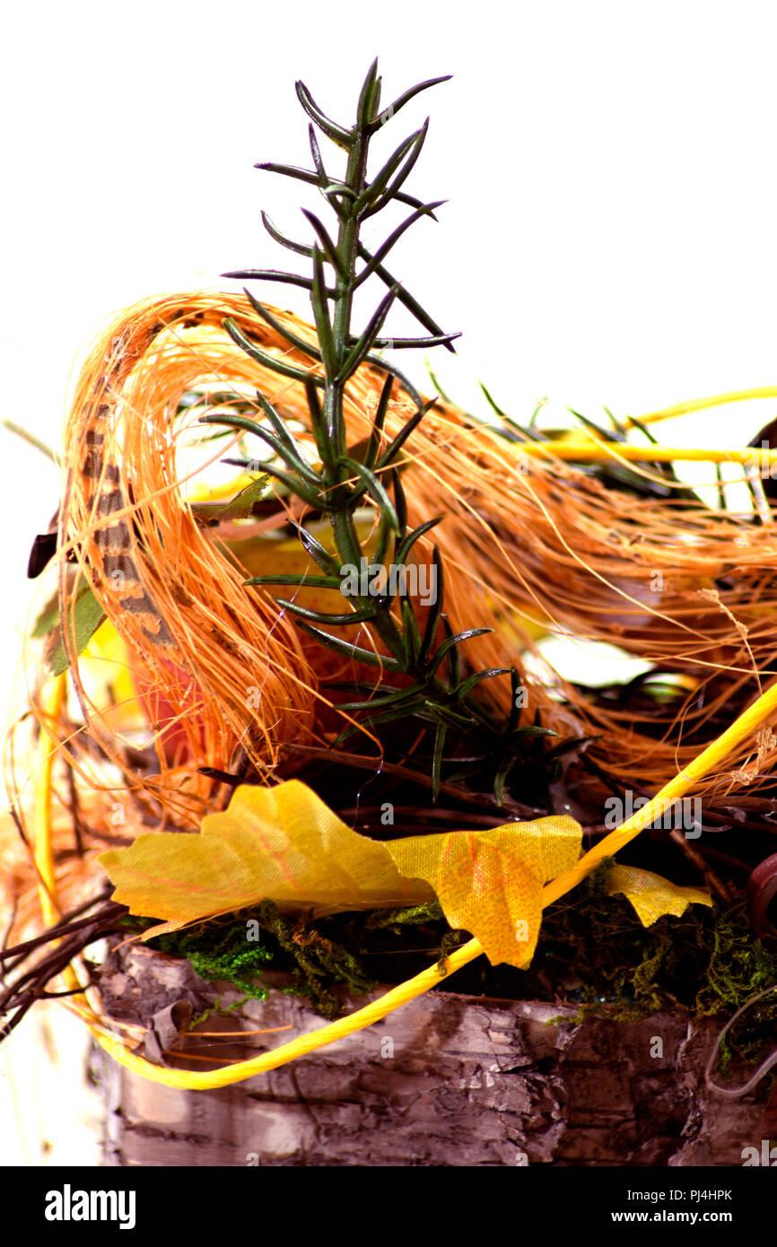 Konzept im Herbst: Herbst Gefühle Stockbild