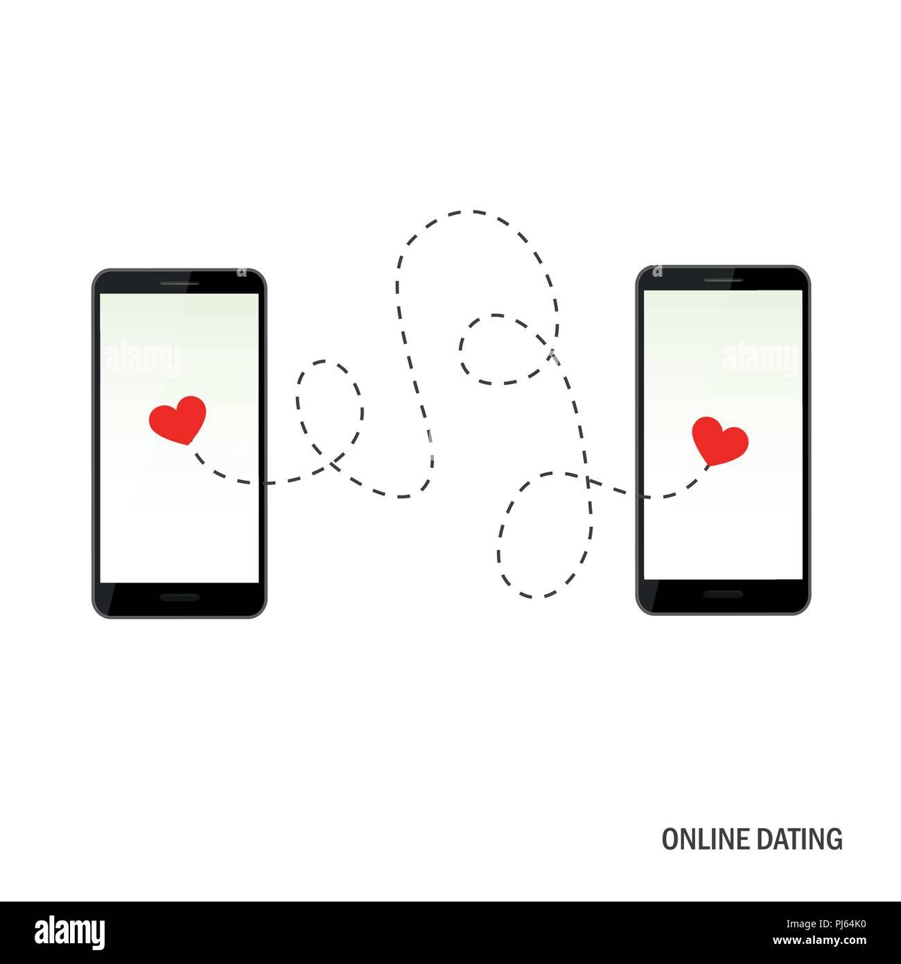 Zwei Dating-App