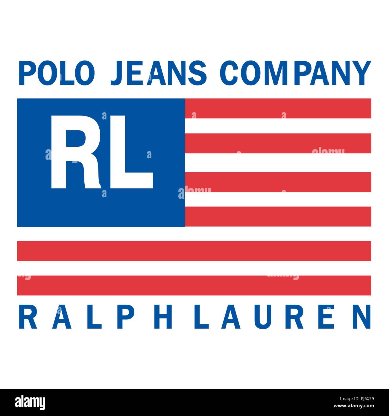 Polo Ralph Lauren Logo Usa Flagge Fashion Luxus Marke Kleidung