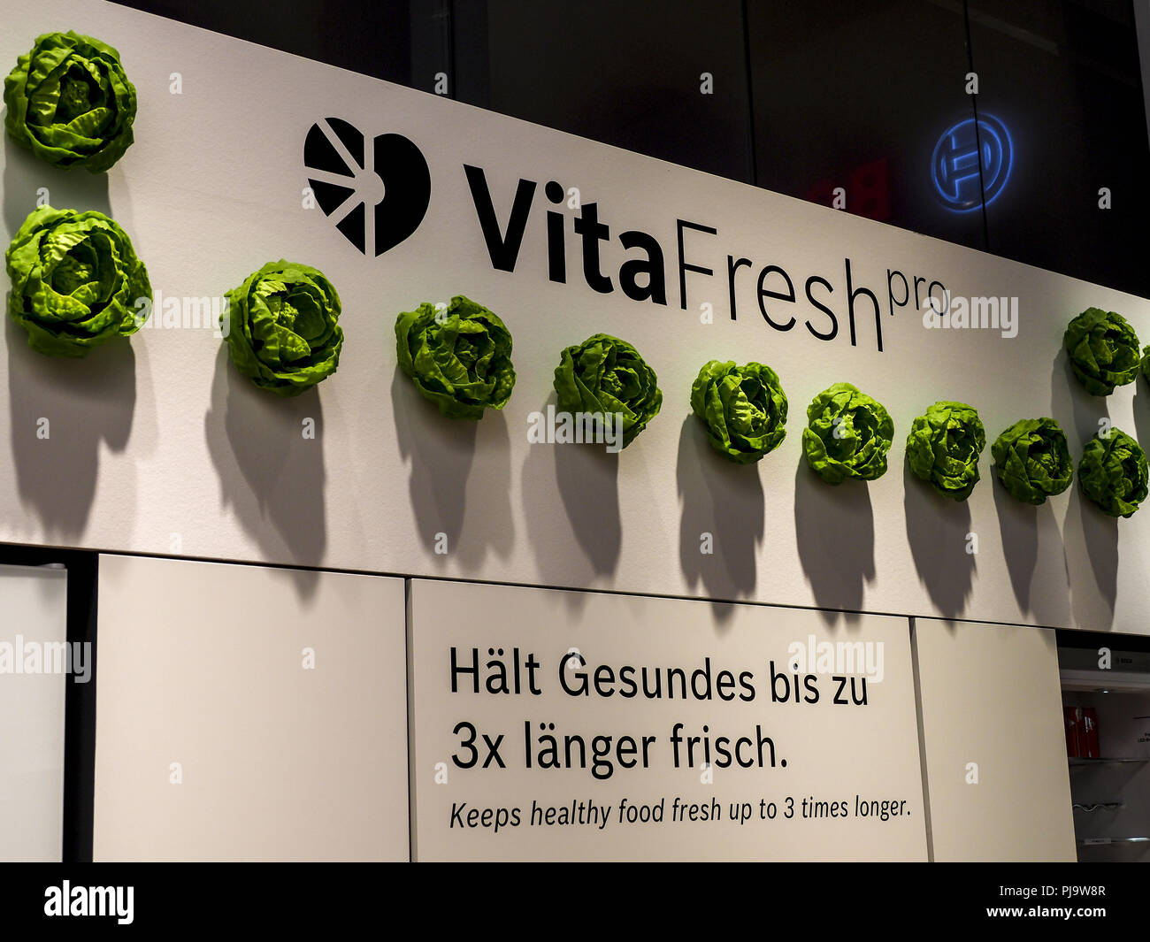 Bosch Kühlschrank Vitafresh : Bosch vitafresh kühlschrank ifa 2018 berlin internationale