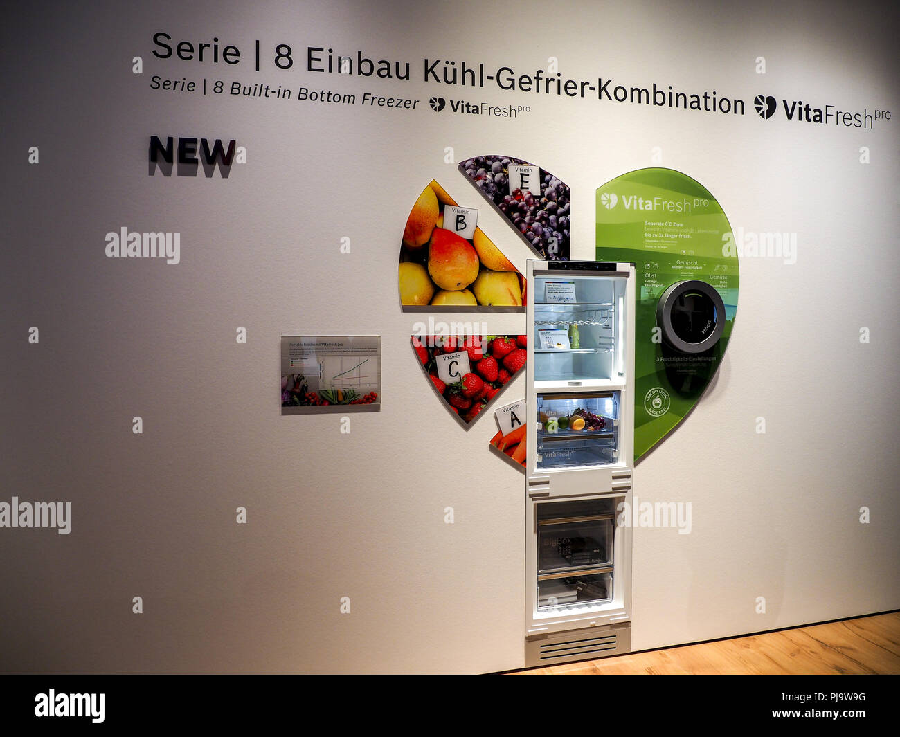 Bosch Kühlschrank Serie 8 : Bosch vitafresh kühlschrank ifa berlin internationale