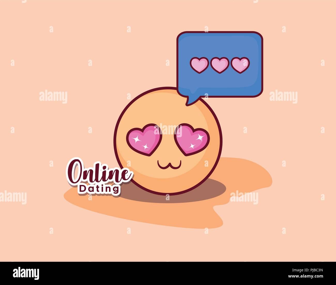 Schöne Online-Dating-Nachricht