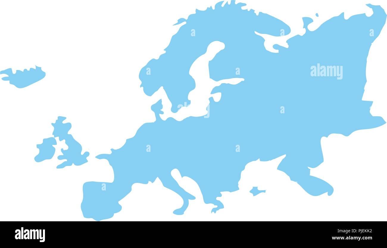 Kontinent Unter Europa