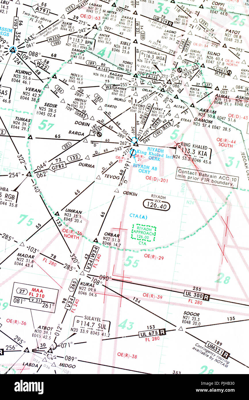 Luftfahrtkarte Stockfotos & Luftfahrtkarte Bilder - Alamy