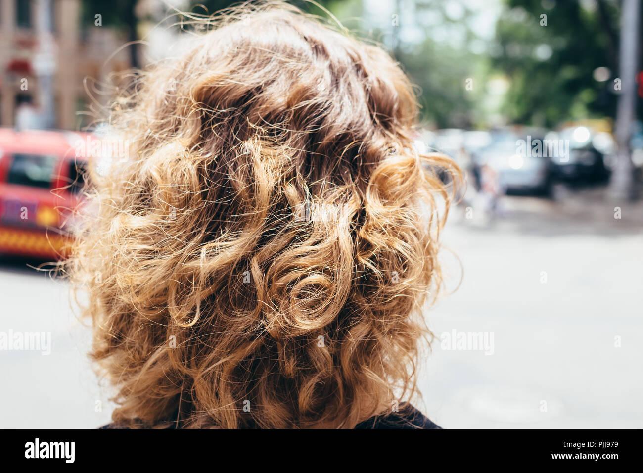 Haare hinten braune von Braune Haare