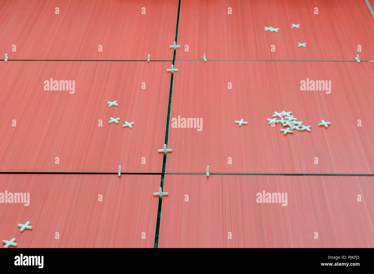 Fliesen Abstandhalter Stockfotos Fliesen Abstandhalter Bilder Alamy
