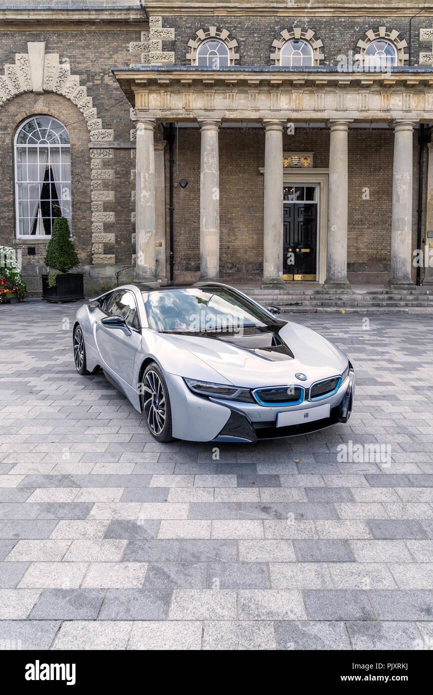 BMW i8 Coupé Stockbild