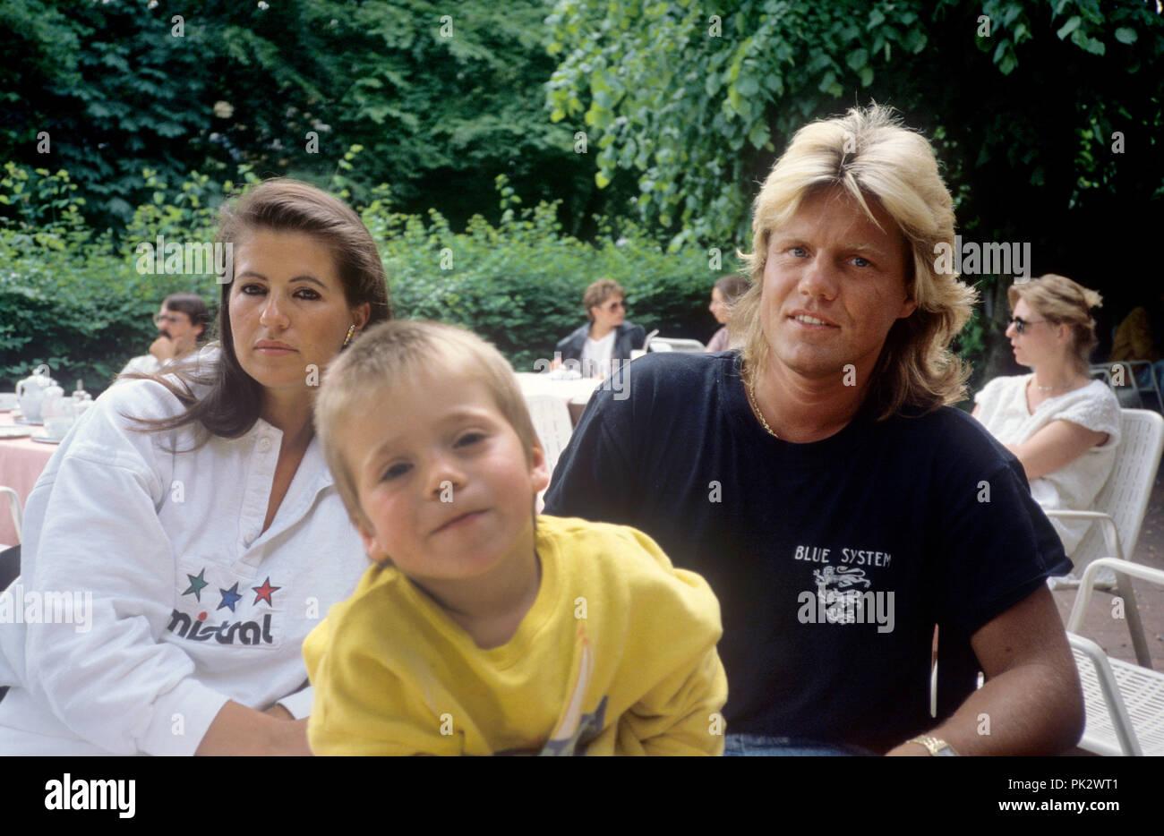 Dieter Bohlen und Erika Sauerland am 29.05.1988 in Hamburg