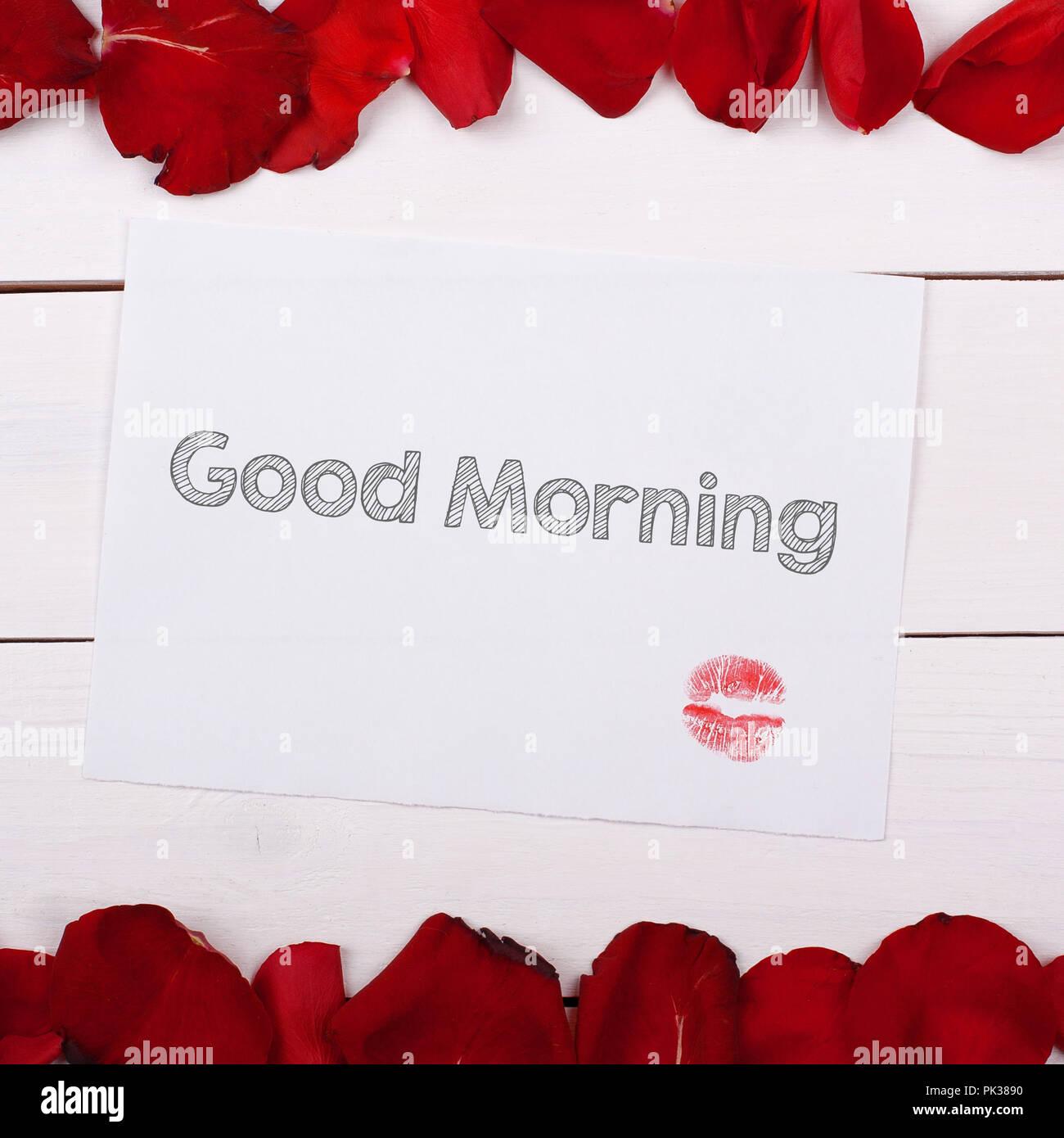 Morgen einen kuss guten Lustige Bilder