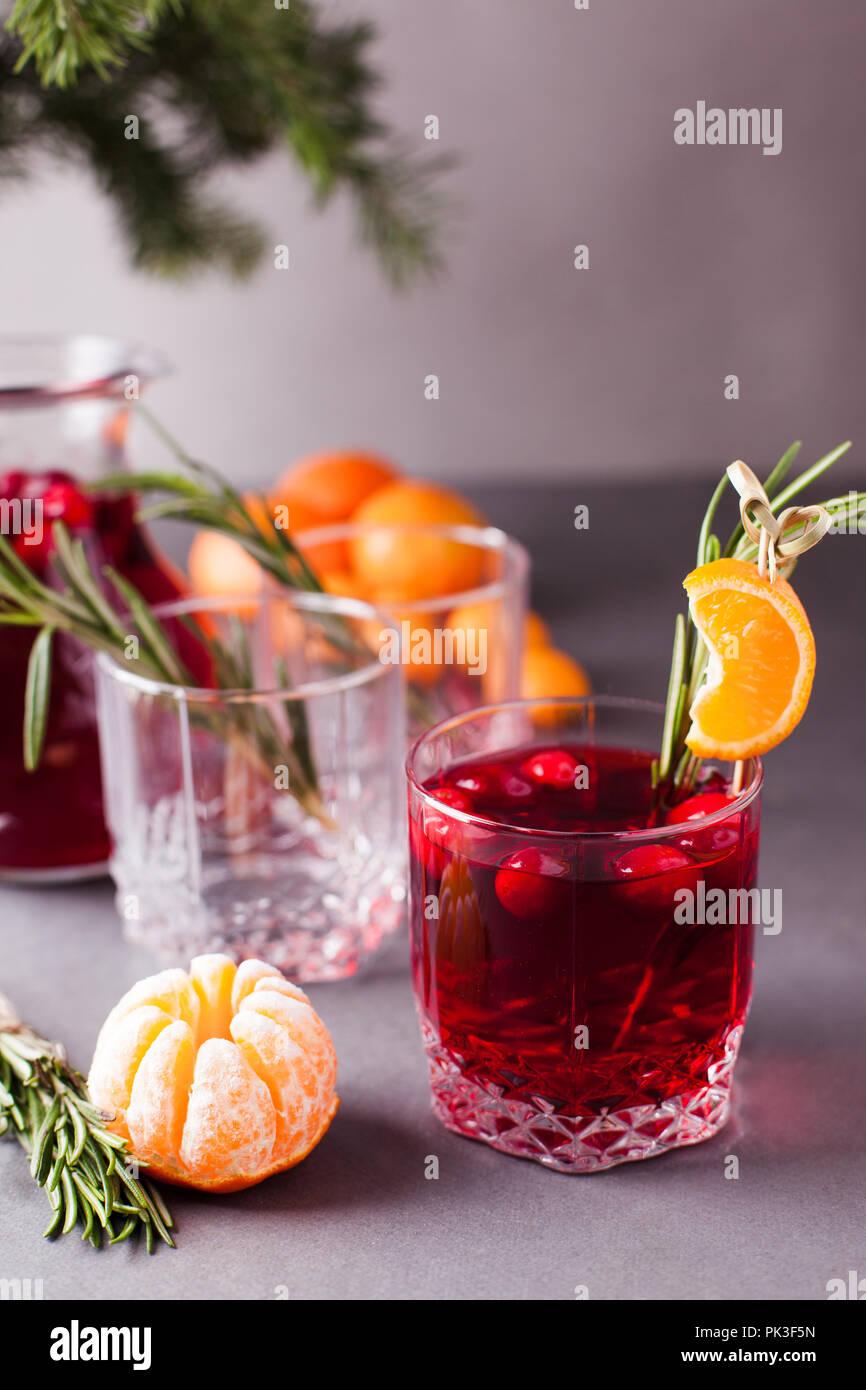 Weihnachten, Thanksgiving Getränke. Herbst, Winter cocktail Grog ...