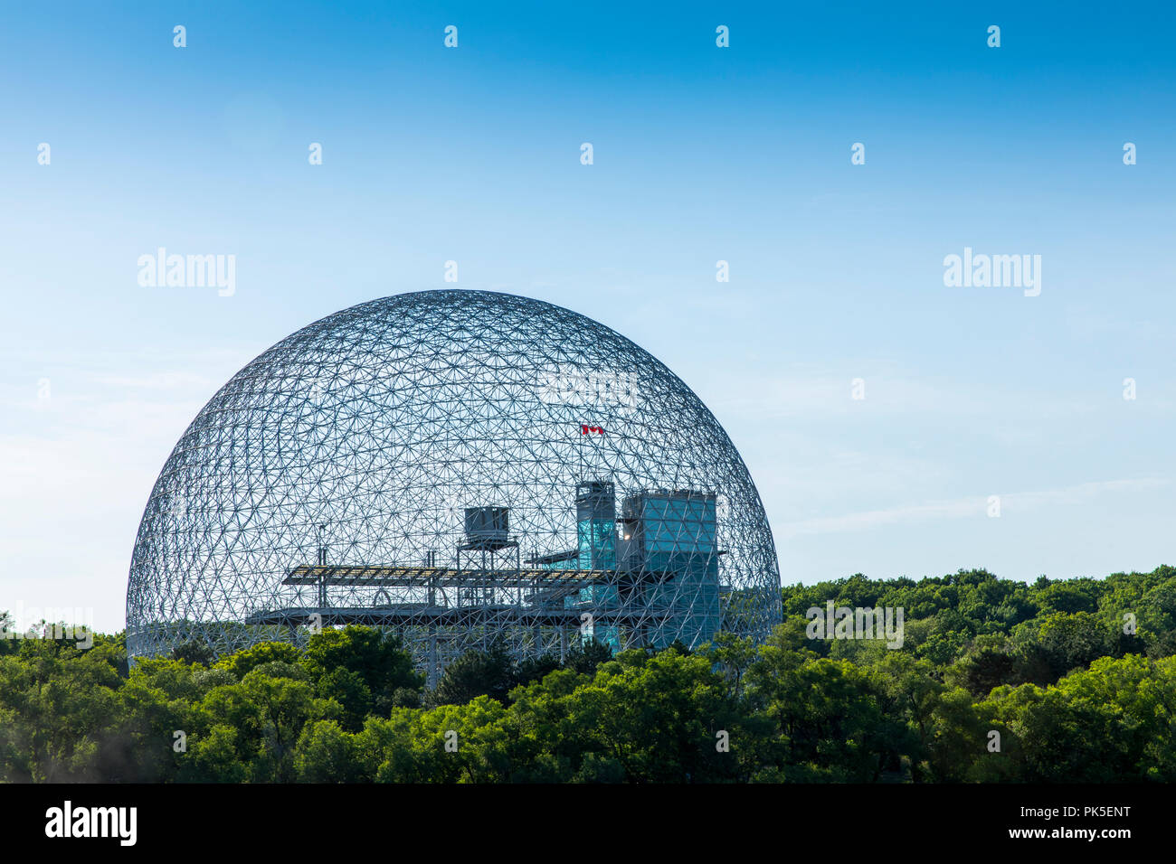 Kanada, Quebec, Montreal, Biosphäre Stockbild