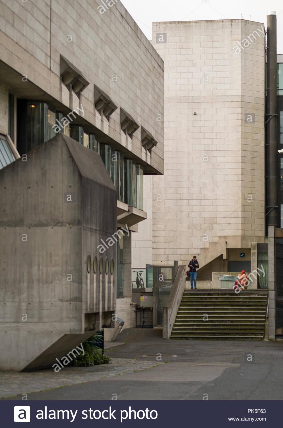 Berkeley Library Das Trinity College Dublin Leinster Irland