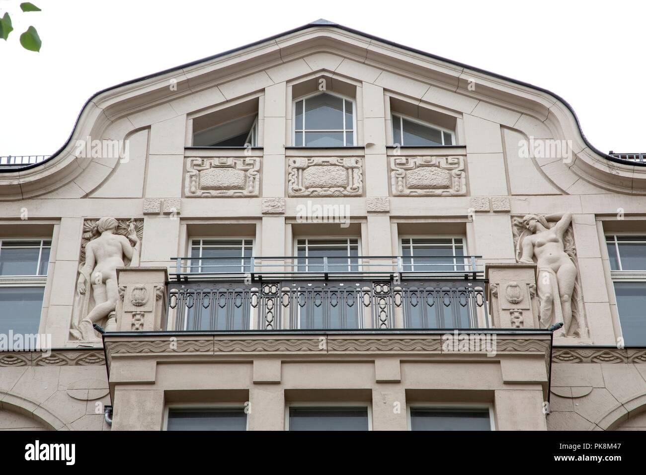 Haus Hillbrich In Der Mauerstrasse 76 1908 Carl Mostert