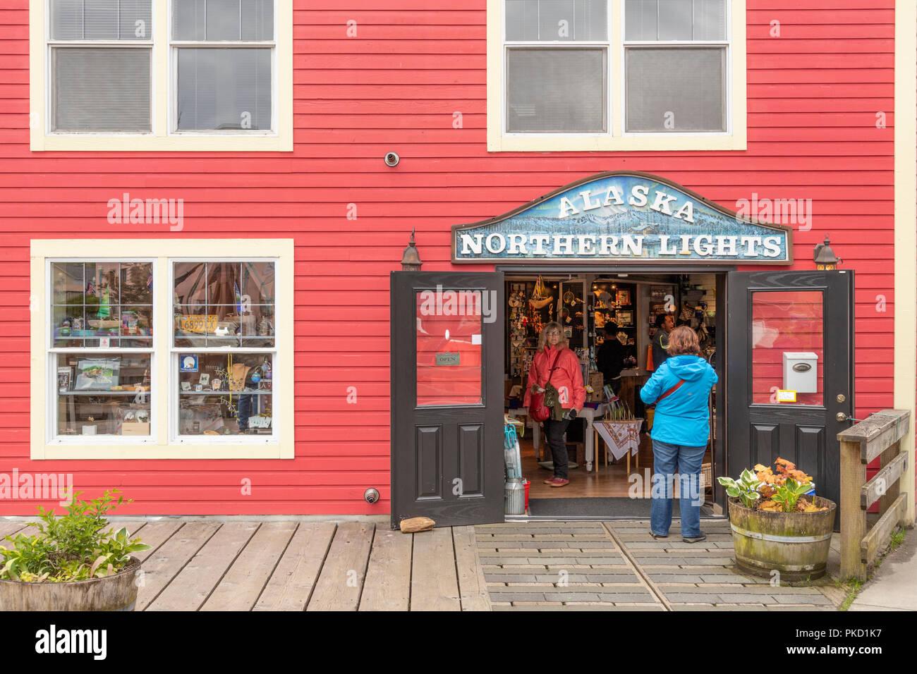 Eine Der Alten Holzhauser Jetzt Ein Geschenk Shop In Der Creek
