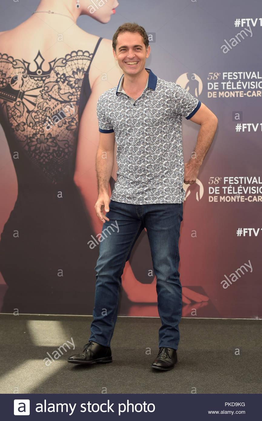Pedro Alonso 58 Monte Carlo Television Festival, Monte Carlo 19-06-2018  Stockfotografie - Alamy