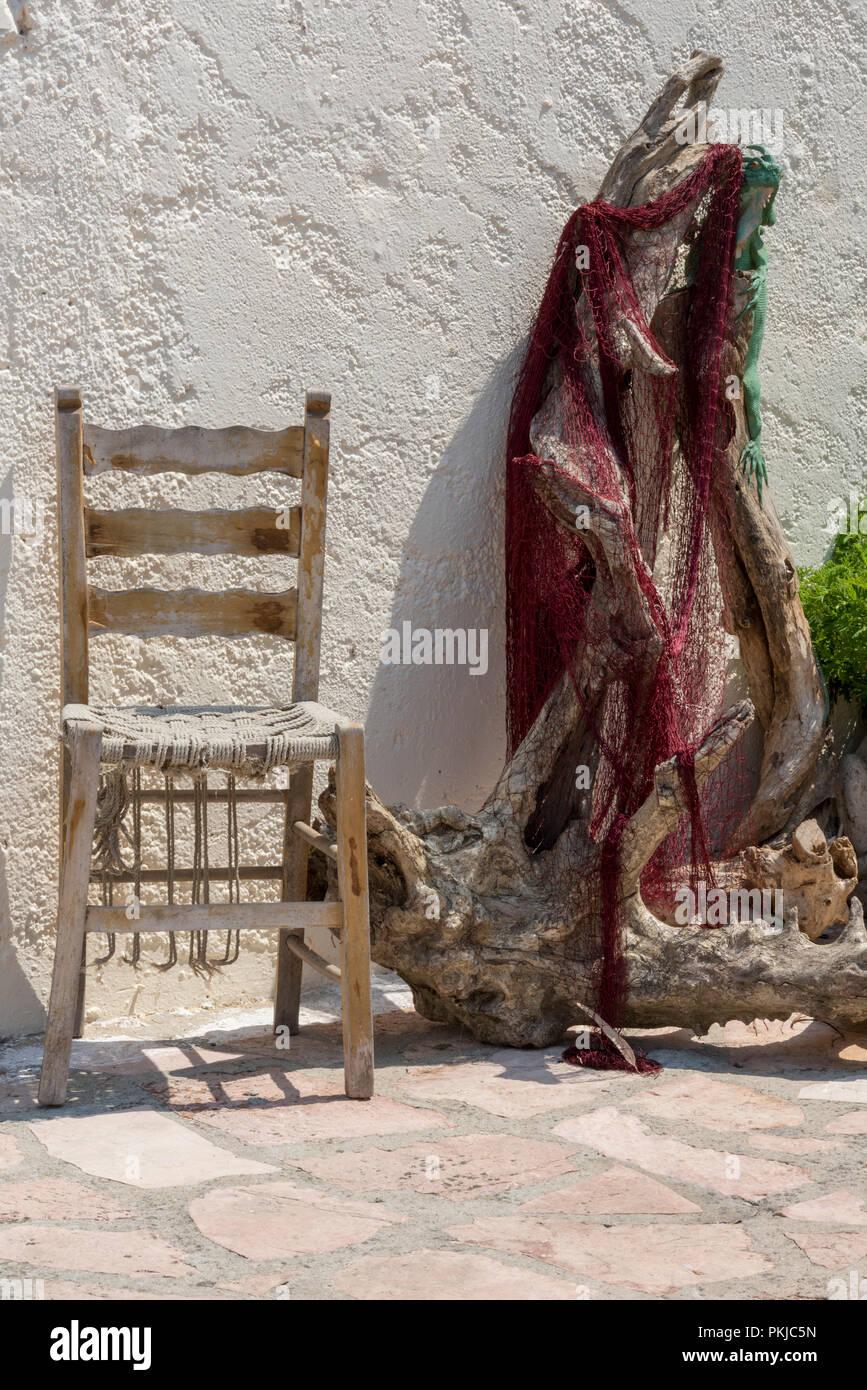 und Ein Treibholz Chic alter Shabby Stil Holzstuhl im yvm8nOPN0w