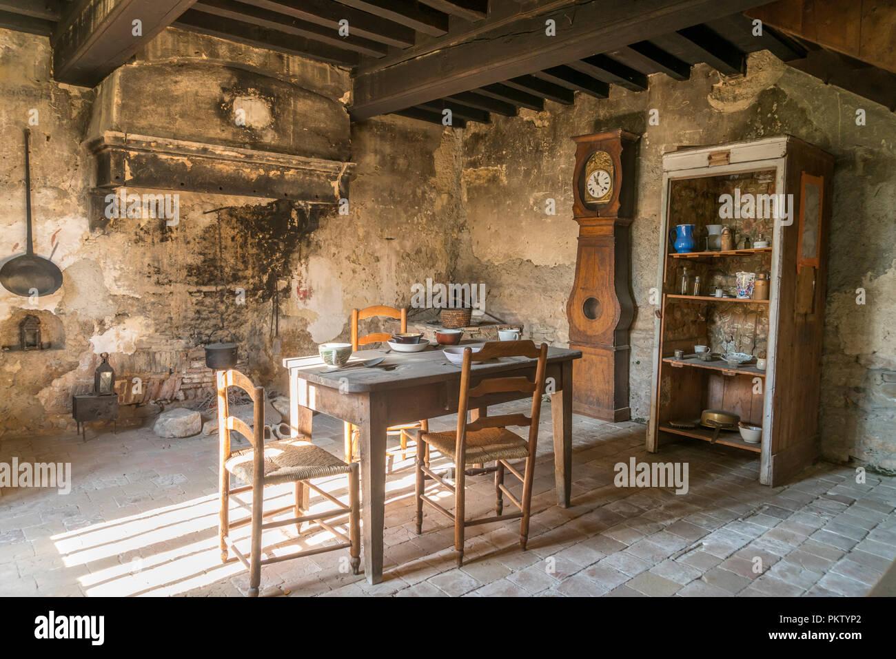 Maison du Saint Cure d'Ars Ars-sur-Formans, Auvergne-Rhone-Alpes, Frankreich Stockbild