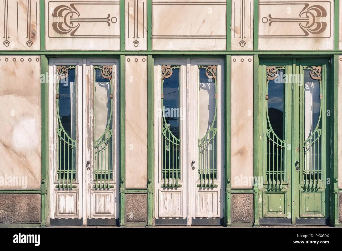 Wien ist die Hauptstadt und größte Stadt Österreichs, und einer der neun Staaten Österreich. Stockbild