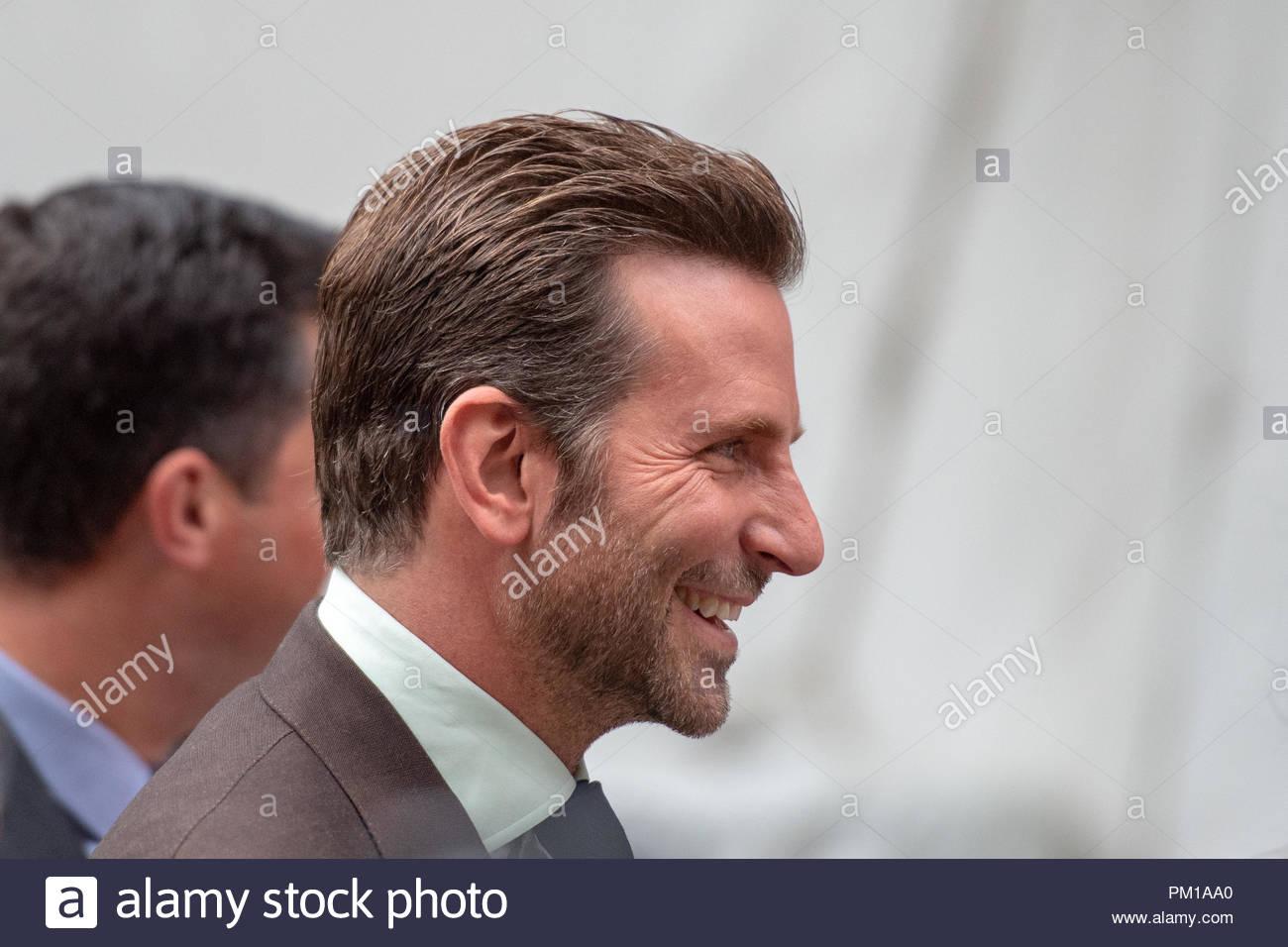 TIFF 2018: das Toronto International Film Festival ist eines der wichtigsten Veranstaltungen ihrer Art in der Welt, Bradley Cooper, Schauspieler und Regisseur in Stockbild