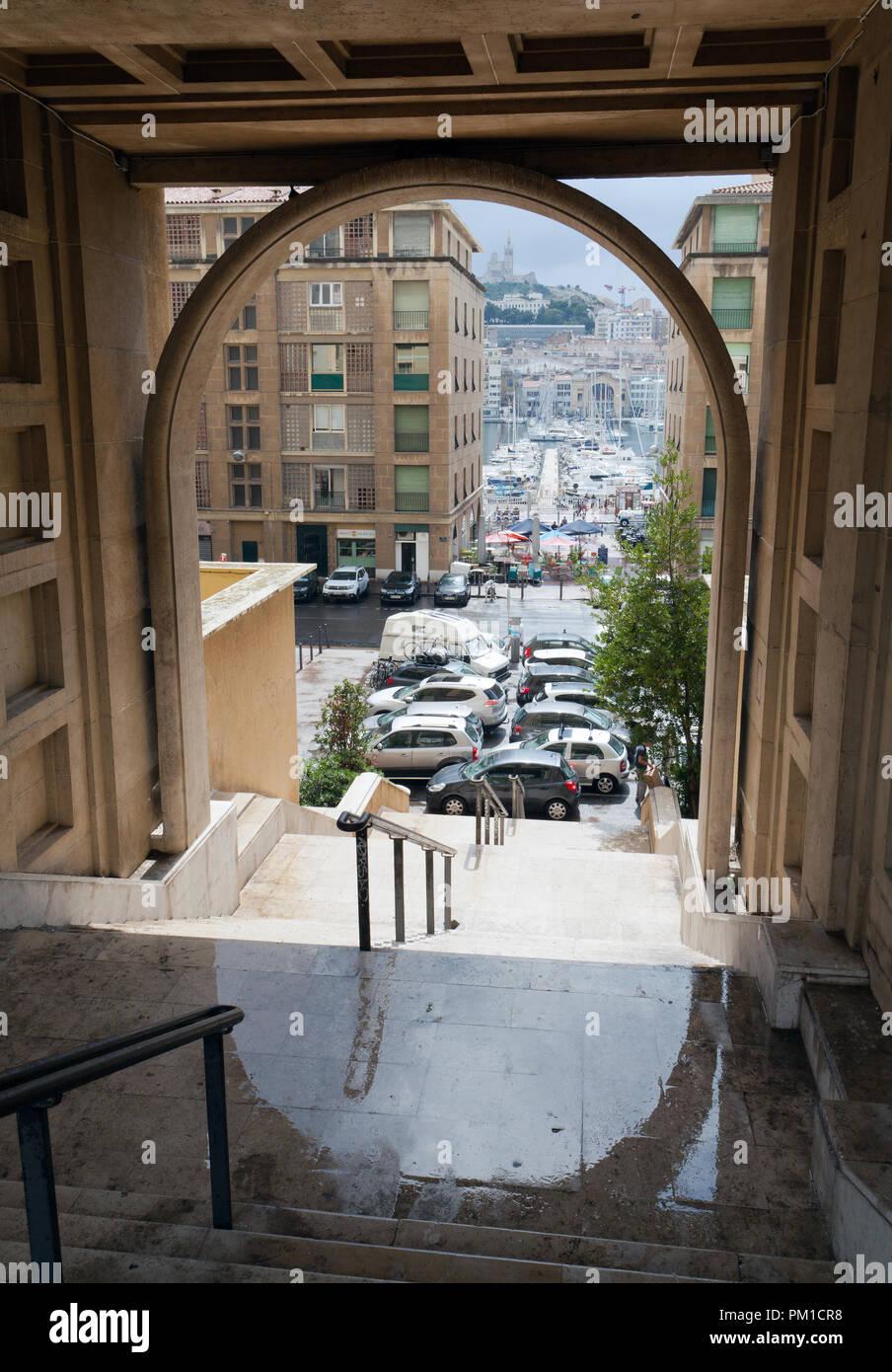 Marseille Stockbild