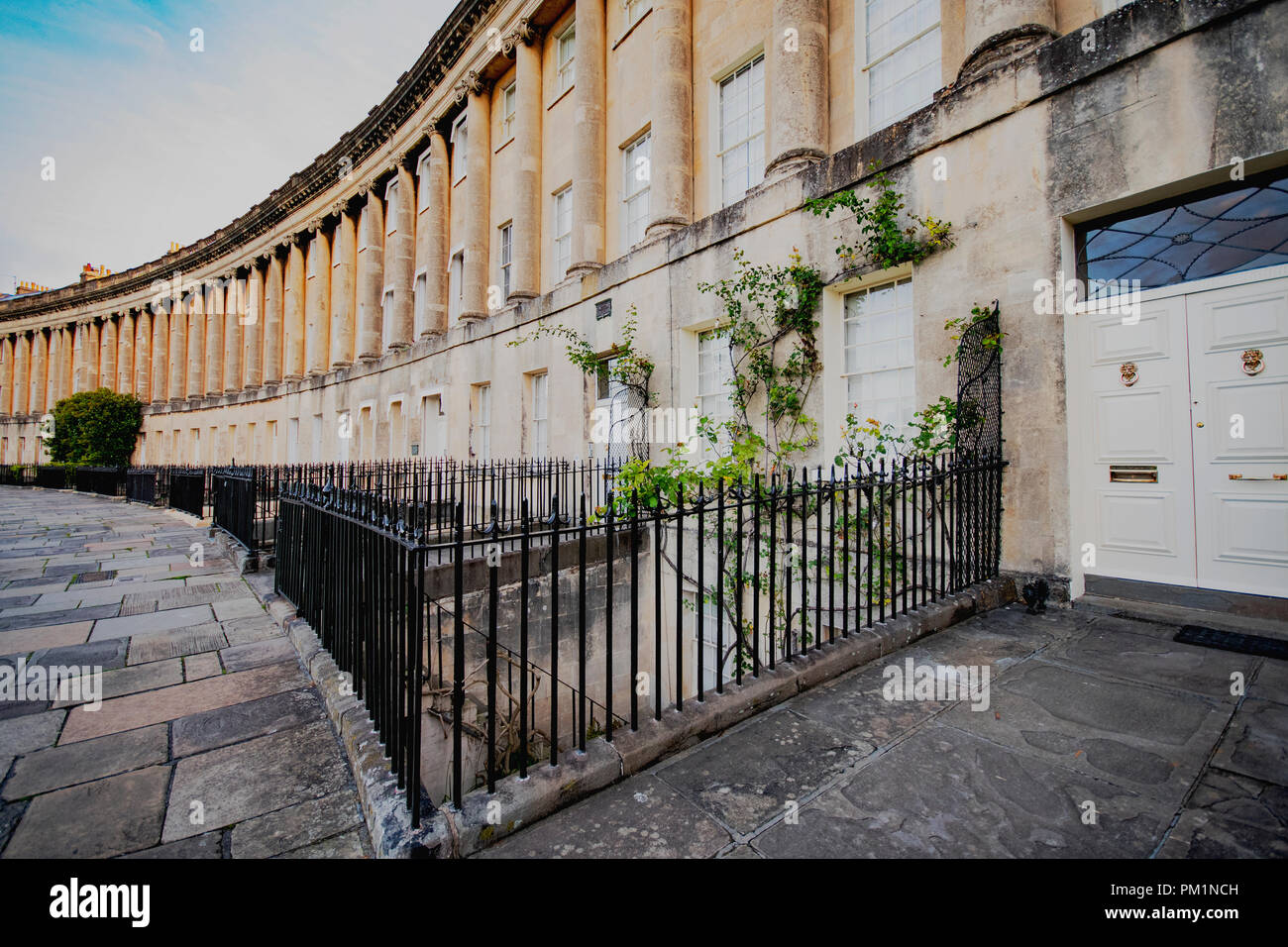 Die berühmte Royal cresecent Architektur Stockbild