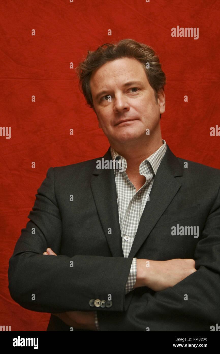 """Colin Firth """"The King's Speech"""" Portrait Session, 11. September 2010. Reproduktion von amerikanischen Boulevardzeitungen ist absolut verboten. Datei Referenz # 30485_002 GFS nur für redaktionelle Verwendung - Alle Rechte vorbehalten Stockbild"""