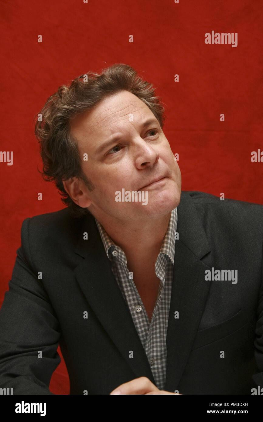 """Colin Firth """"The King's Speech"""" Portrait Session, 11. September 2010. Reproduktion von amerikanischen Boulevardzeitungen ist absolut verboten. Datei Referenz # 30485_015 GFS nur für redaktionelle Verwendung - Alle Rechte vorbehalten Stockbild"""