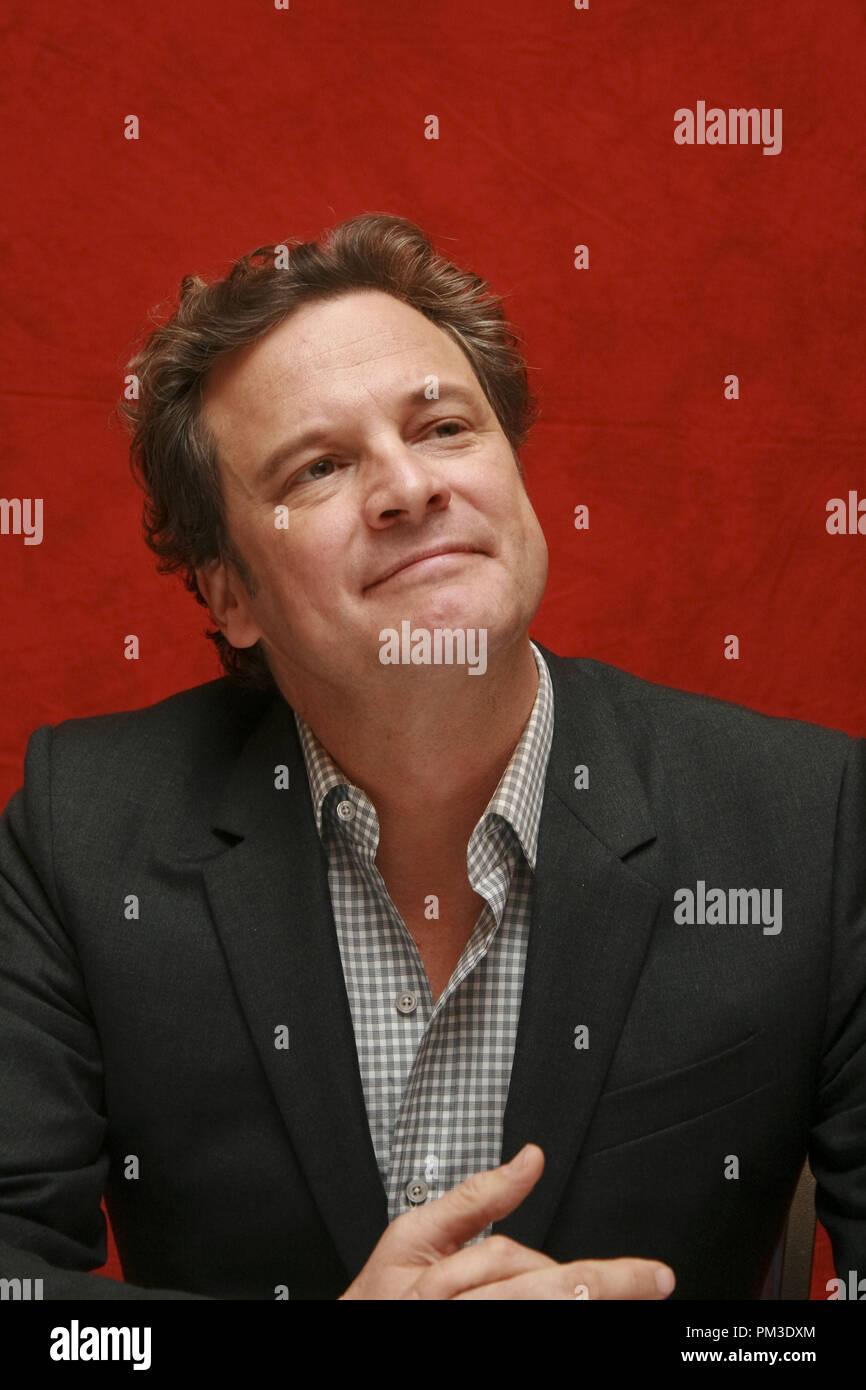 """Colin Firth """"The King's Speech"""" Portrait Session, 11. September 2010. Reproduktion von amerikanischen Boulevardzeitungen ist absolut verboten. Datei Referenz # 30485_017 GFS nur für redaktionelle Verwendung - Alle Rechte vorbehalten Stockbild"""