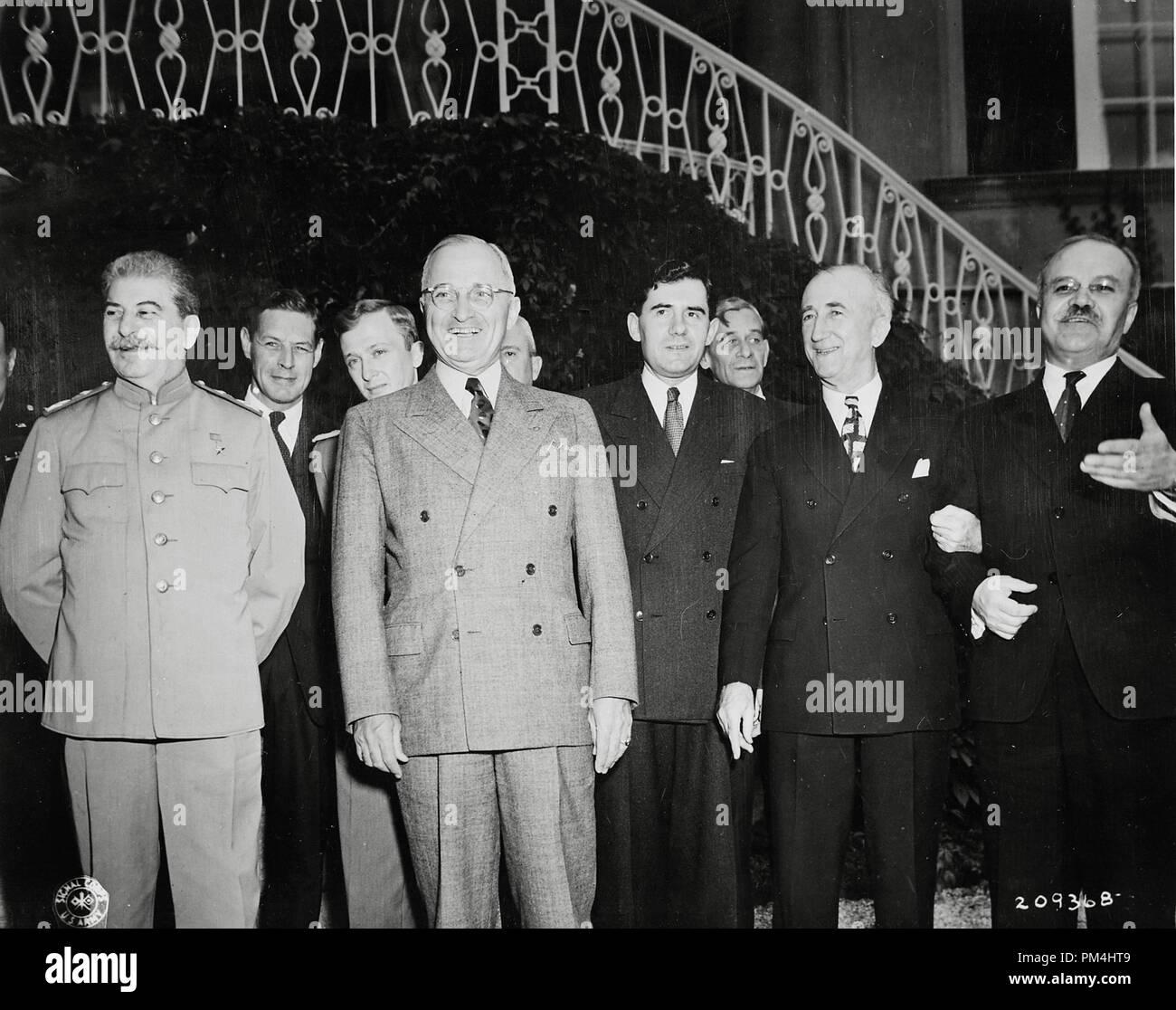 Andrei Gromyko Soviet Foreign Minister Stockfotos & Andrei