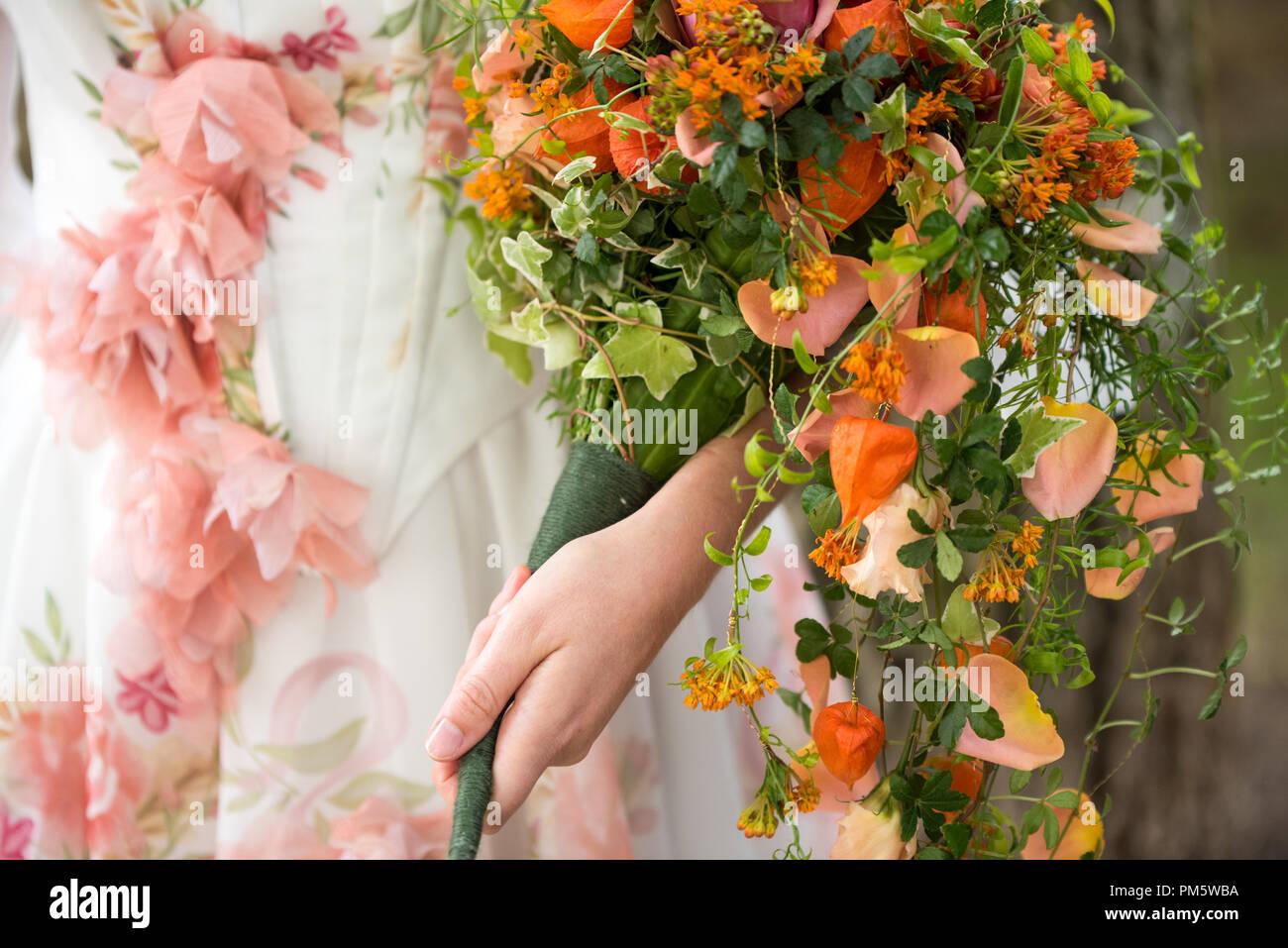 Herbst Hochzeitsstrauss Stockfotos Herbst Hochzeitsstrauss Bilder