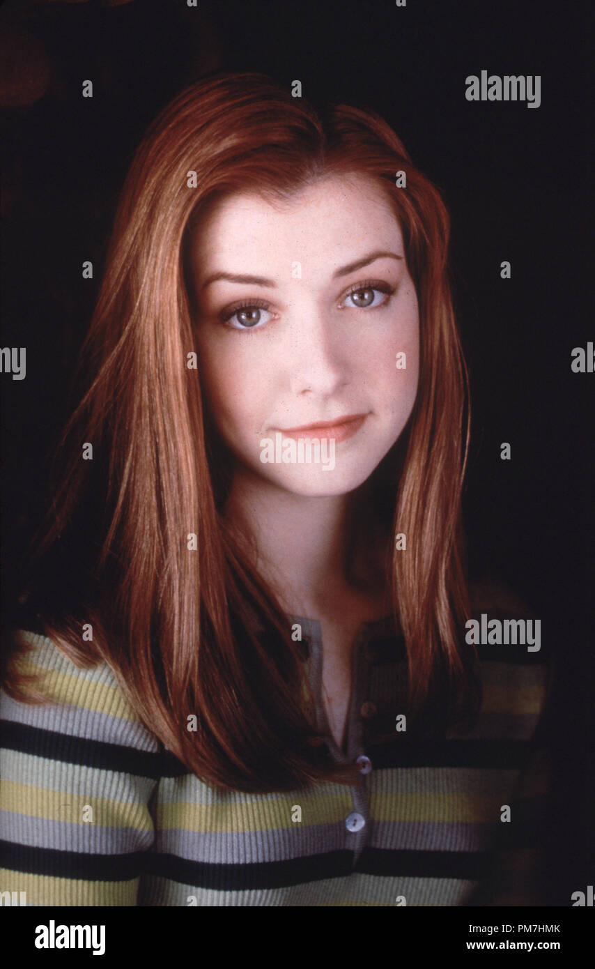 Szene Aus Buffy The Vampire Slayer Alyson Hannigan 1997 Warner