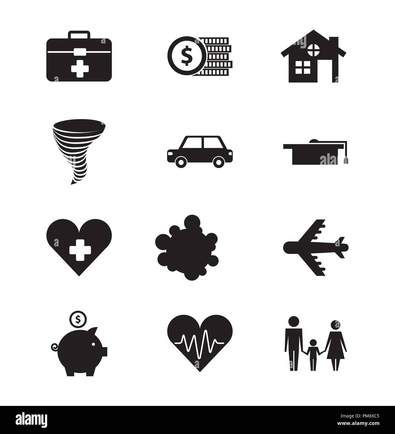 Zum Schutz Der Familie Haus Auto Versicherung Gesundheit Ausbildung
