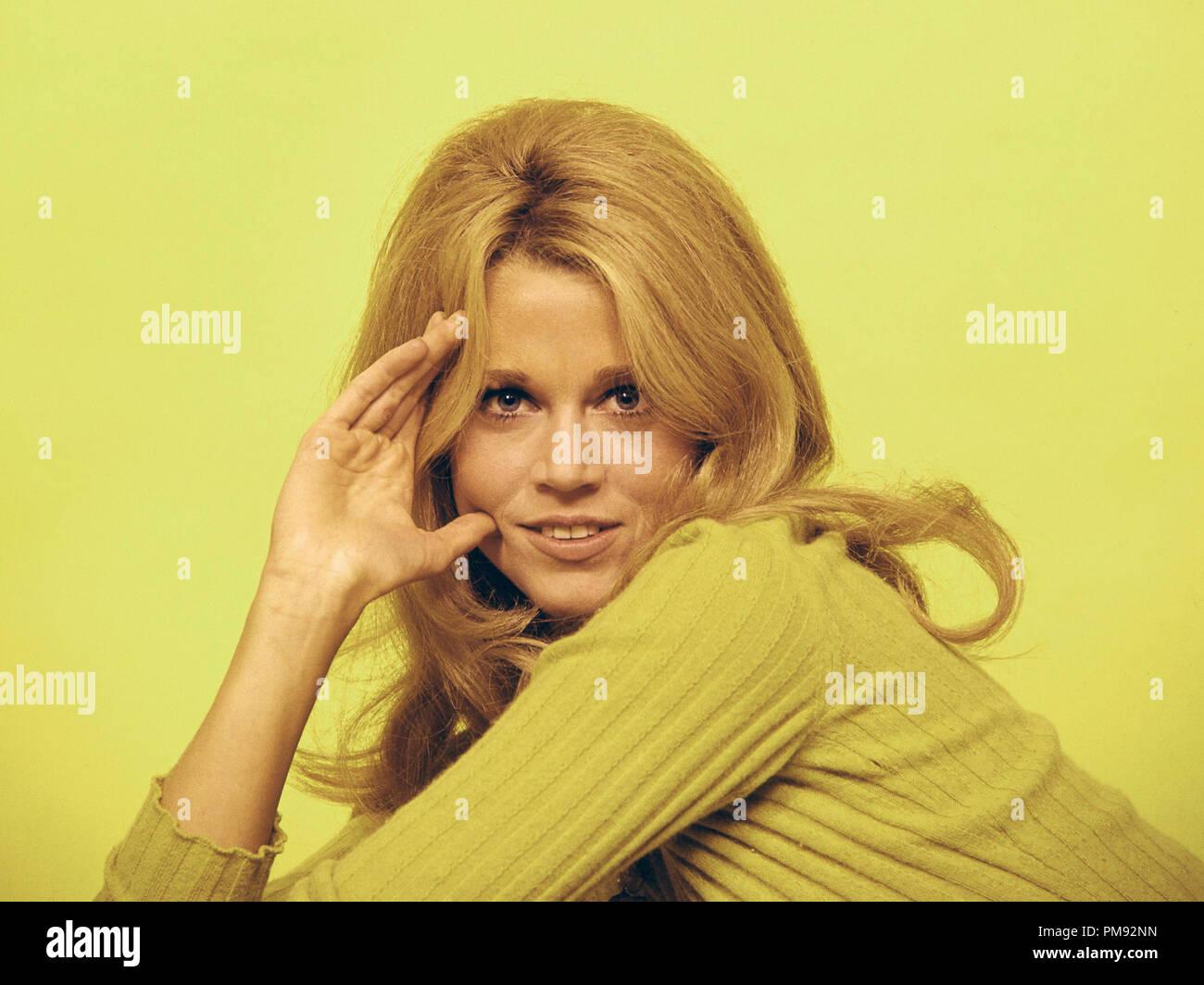 (Archivierung klassische Kino - Jane Fonda Retrospektive) Jane Fonda, circa 1969. Datei Referenz # 31537_281 THA Stockbild