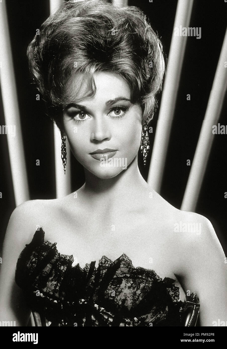 (Archivierung klassische Kino - Jane Fonda Retrospektive) Jane Fonda, ca. 1962 Datei Referenz # 31537_287 THA Stockbild