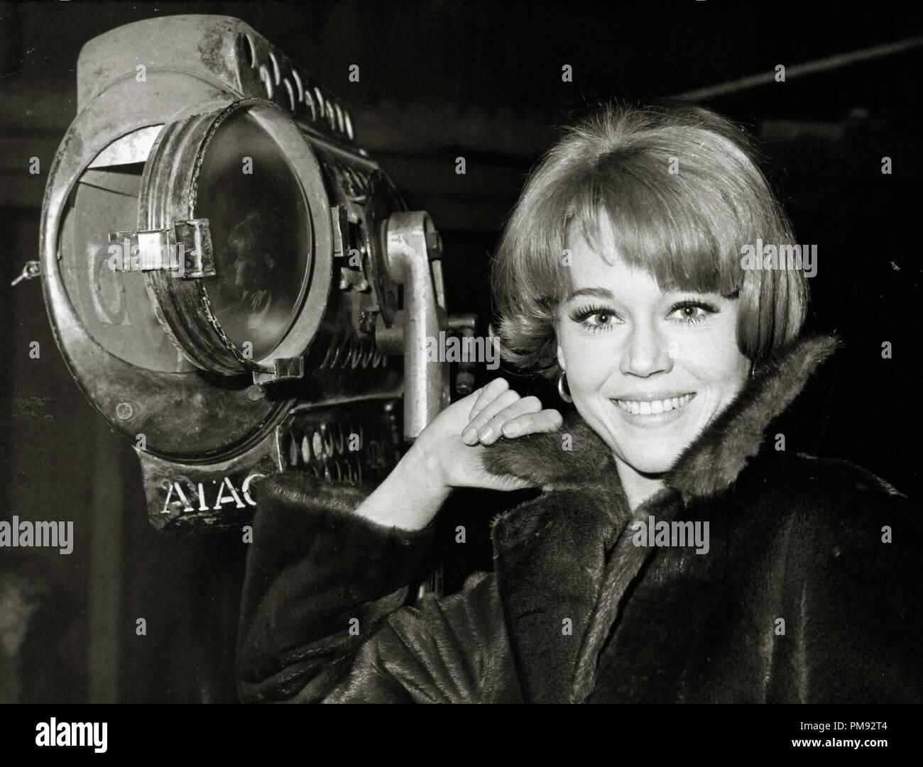 (Archivierung klassische Kino - Jane Fonda Retrospektive) Jane Fonda, circa 1964. Stockbild