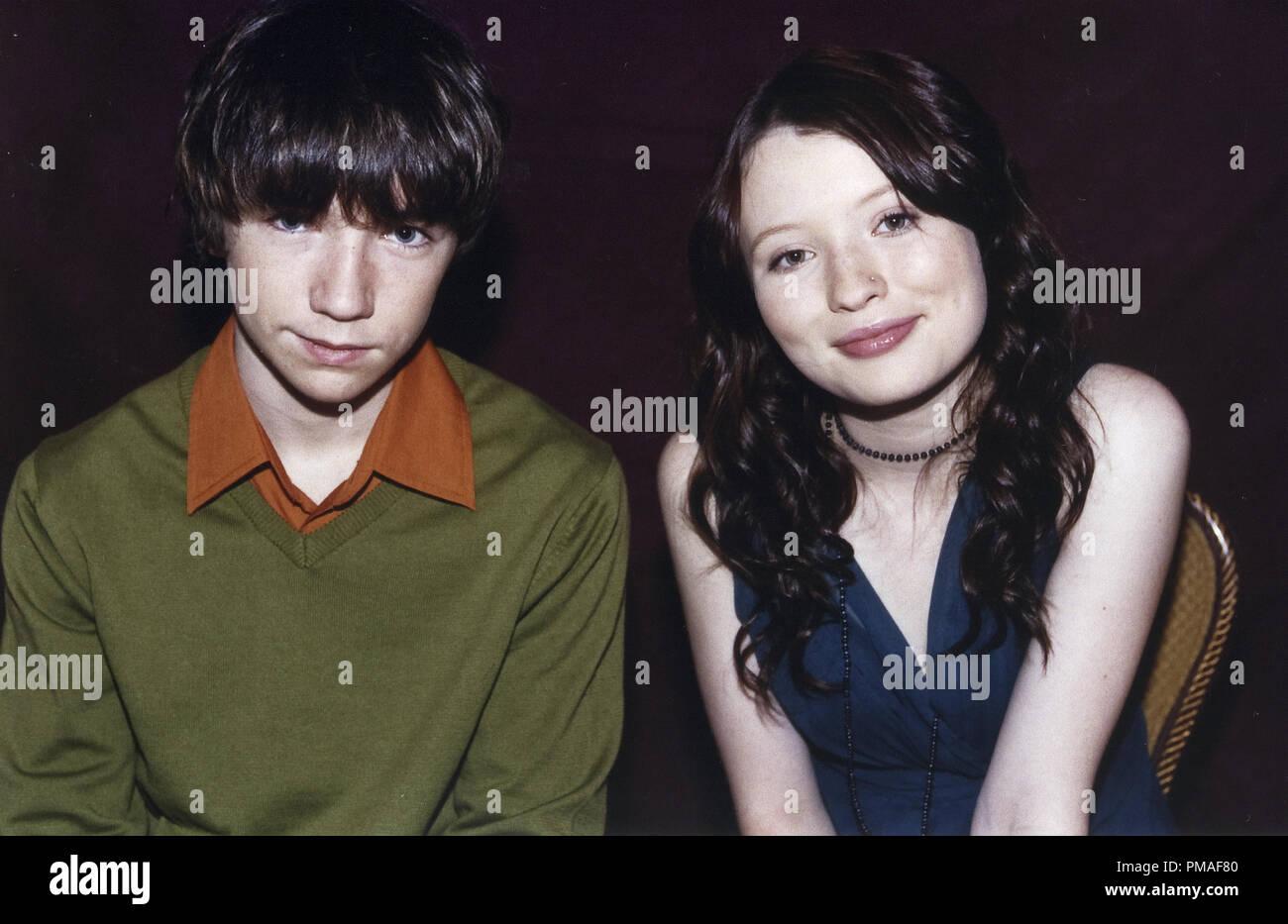 Portrait Von Liam Aiken Und Emily Browning Ca 2004 Gfshollywood