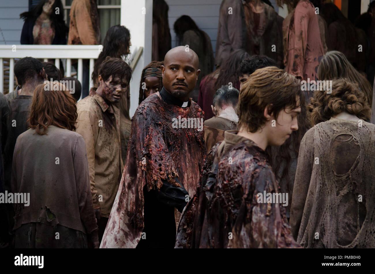 Seth Gilliam Als Vater Gabriel The Walking Dead Staffel 6 Episode