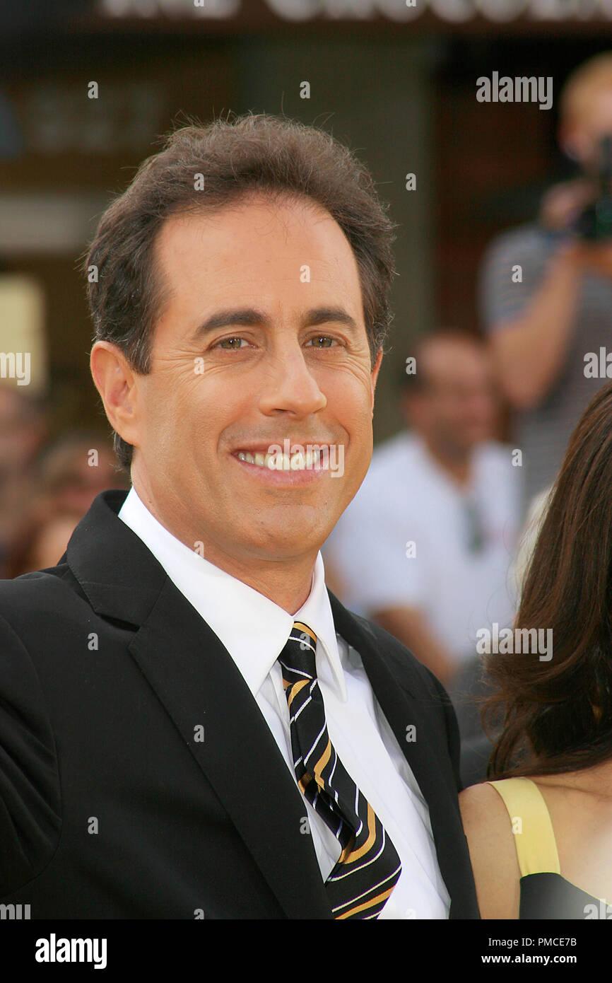 Bee Movie (Premiere) Jerry Seinfeld 10-28-2007/Mann Dorf Theater/Westwood, CA/Paramount Pictures/Foto von Joseph Martinez Datei Referenz # 23226_0065 PLX nur für redaktionelle Verwendung - Alle Rechte vorbehalten Stockbild
