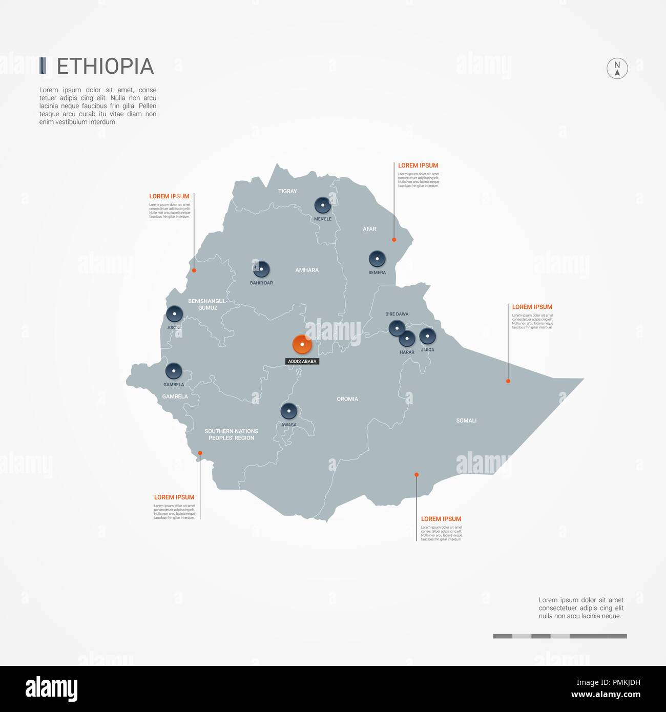 World Map Ethiopia Stockfotos & World Map Ethiopia Bilder ...