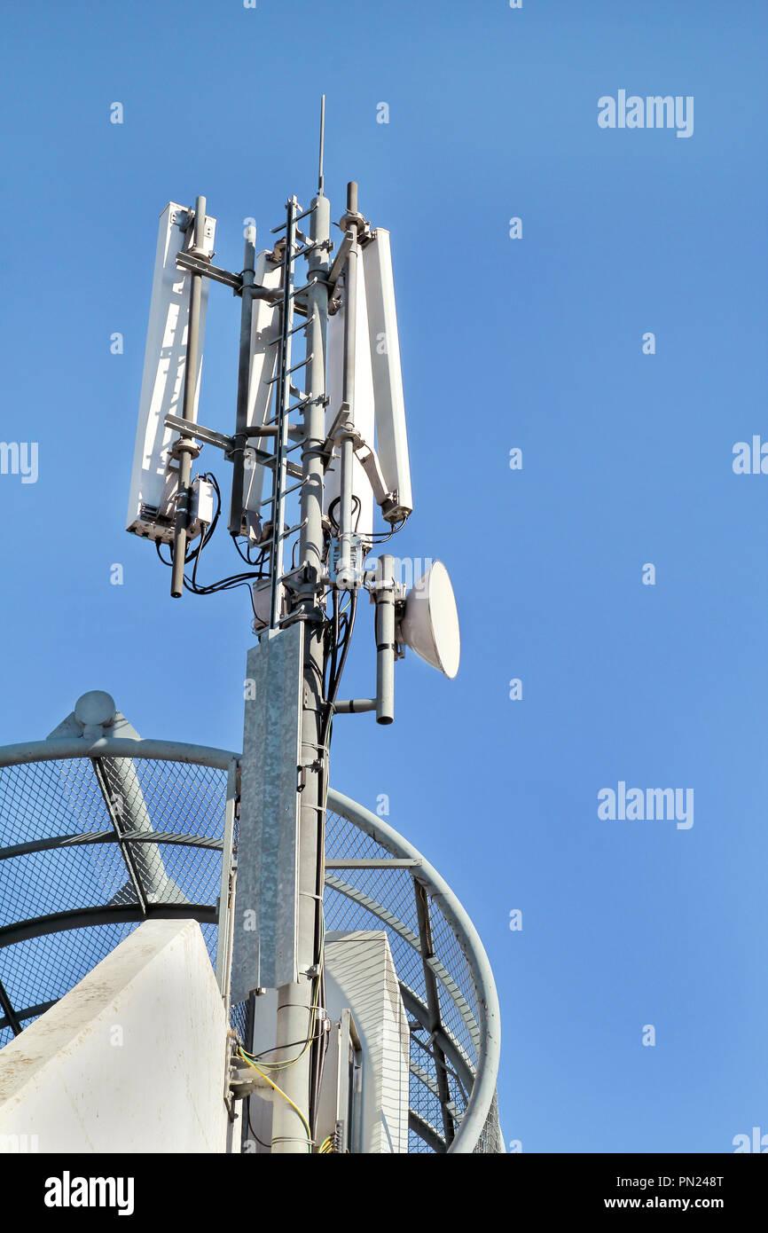 Telekommunikation Basisstationen Netzwerk Repeater Der Mobilfunk