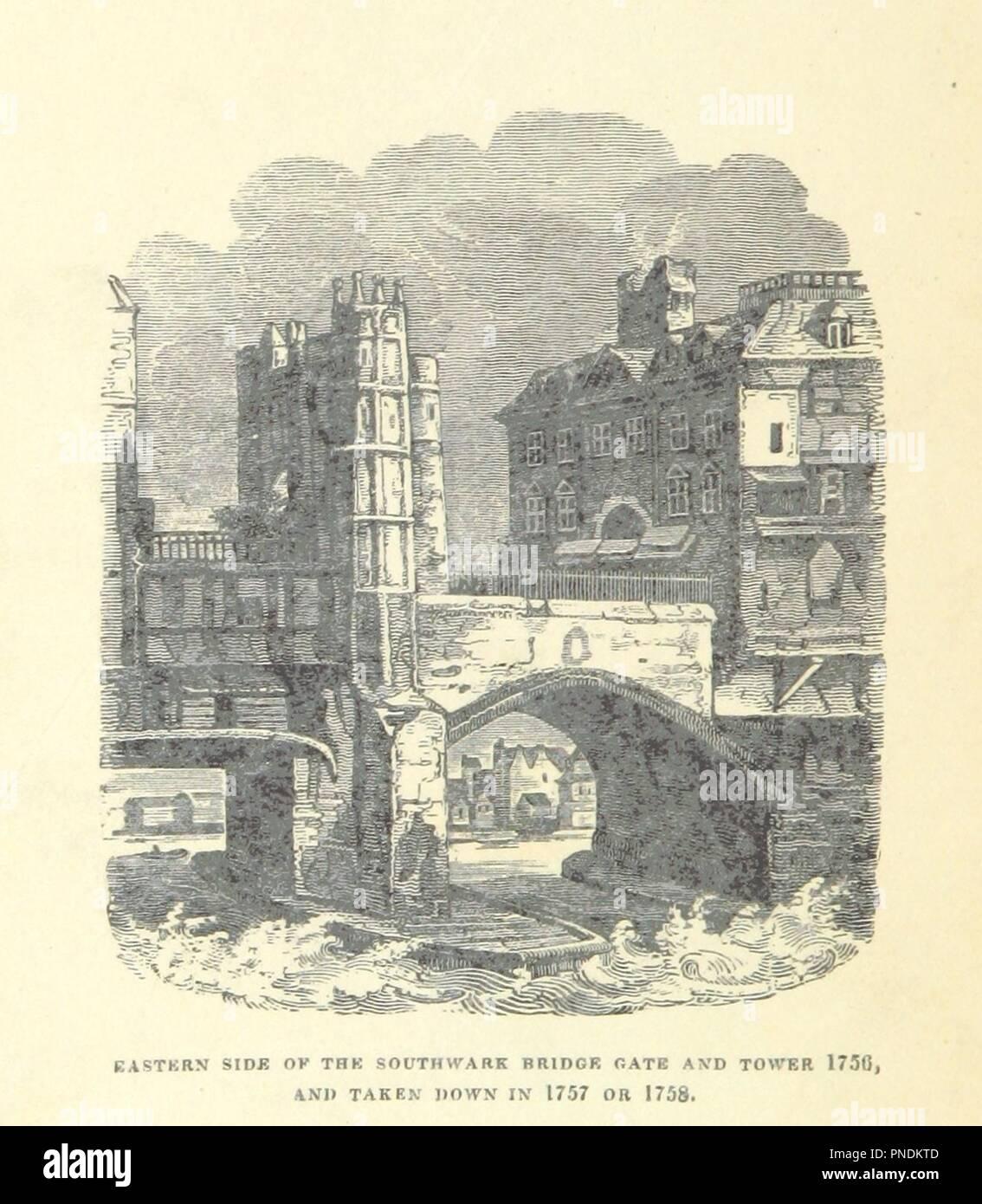 """Bild von Seite 10 der """"[Etymologie von Southwark.]'. Stockbild"""