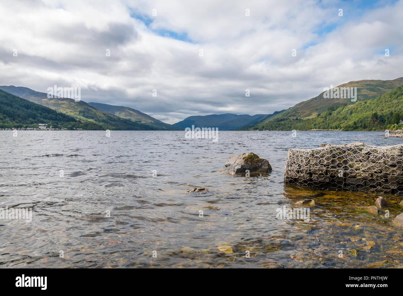 Loch Earn Stockbild