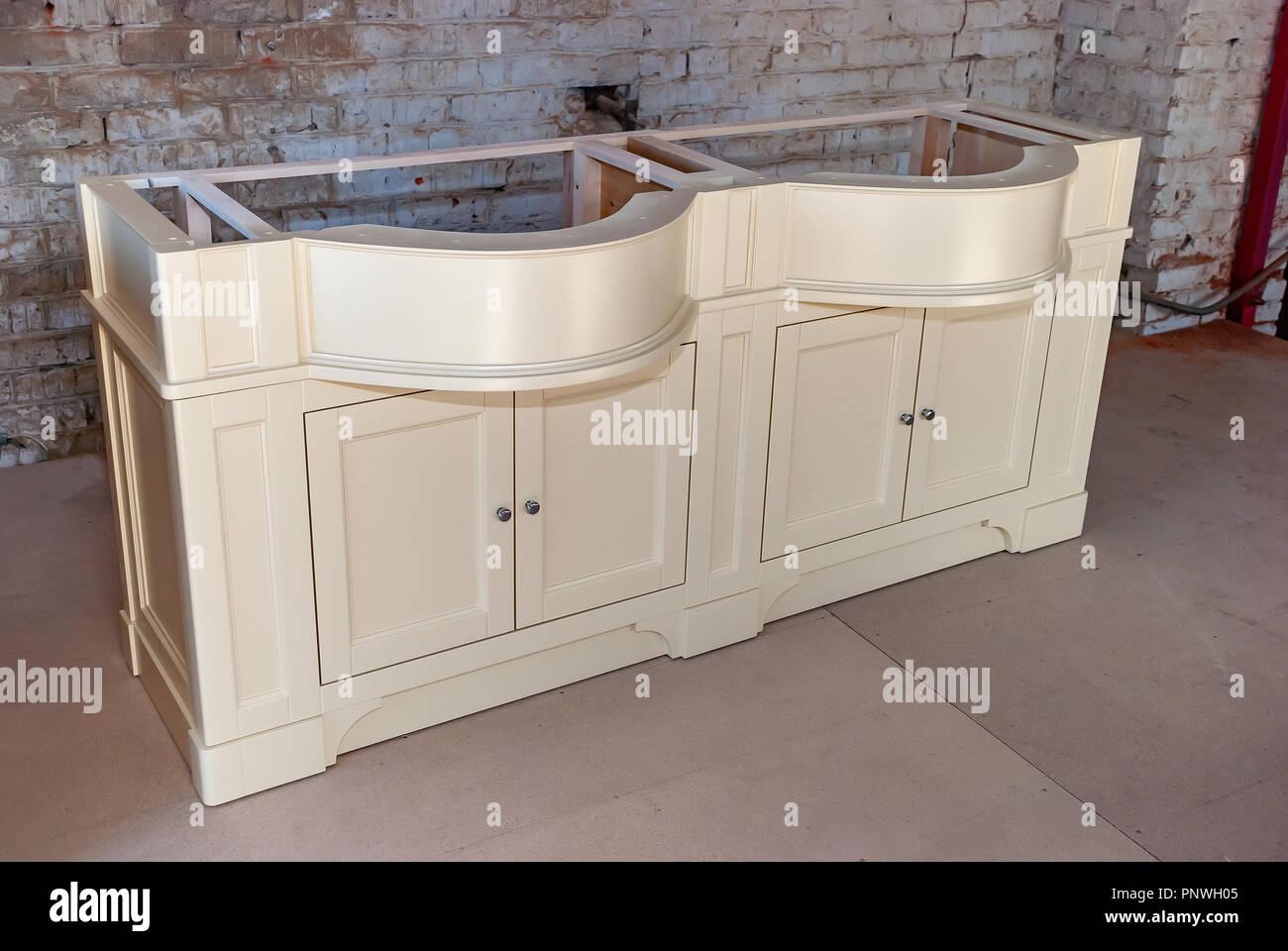 badezimmer waschtisch schrank fur zwei waschbecken klassische mobel