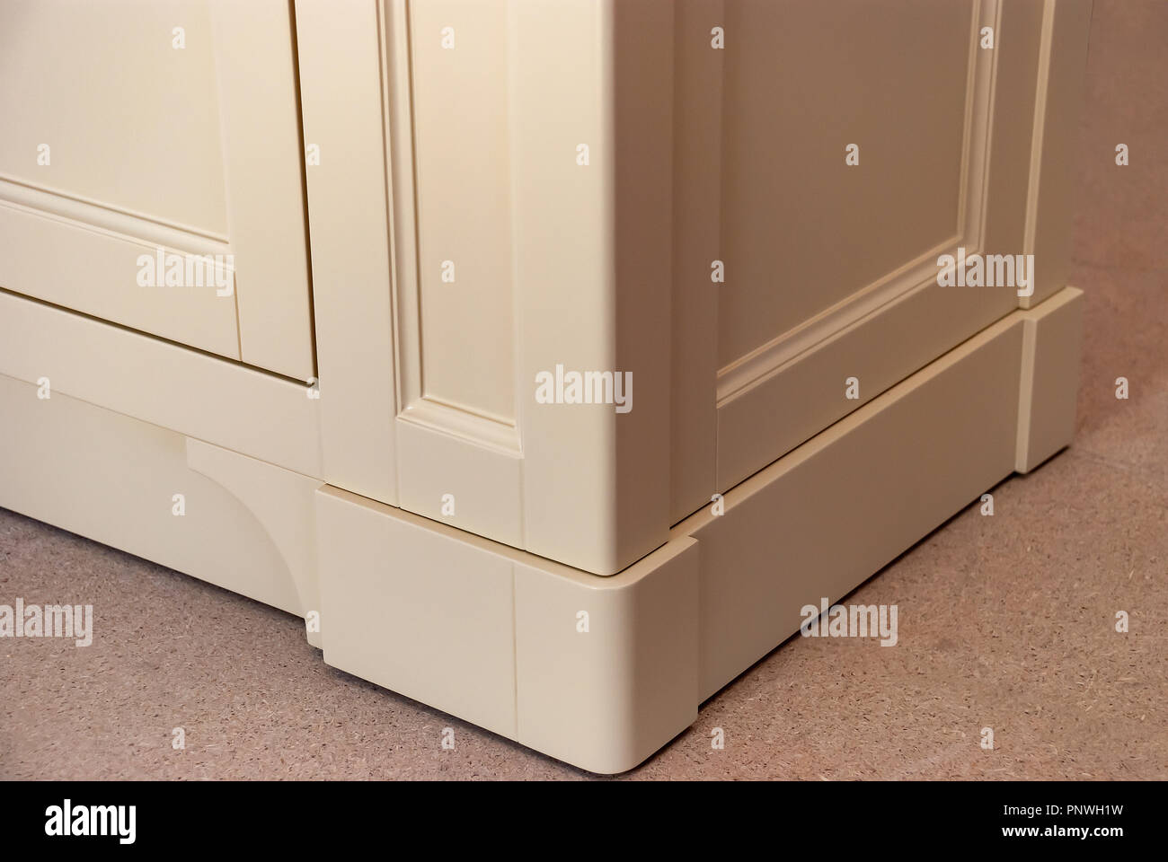 Badezimmer Waschtisch Schrank für zwei Waschbecken. Klassische Möbel ...