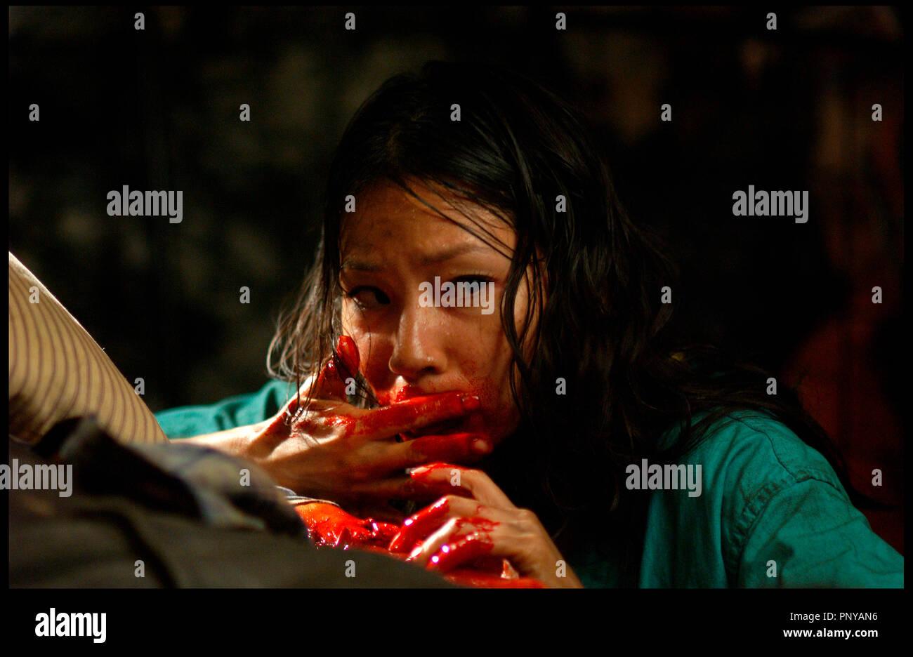 Lucy Liu Rise Blood Hunter Stockfotos Lucy Liu Rise Blood